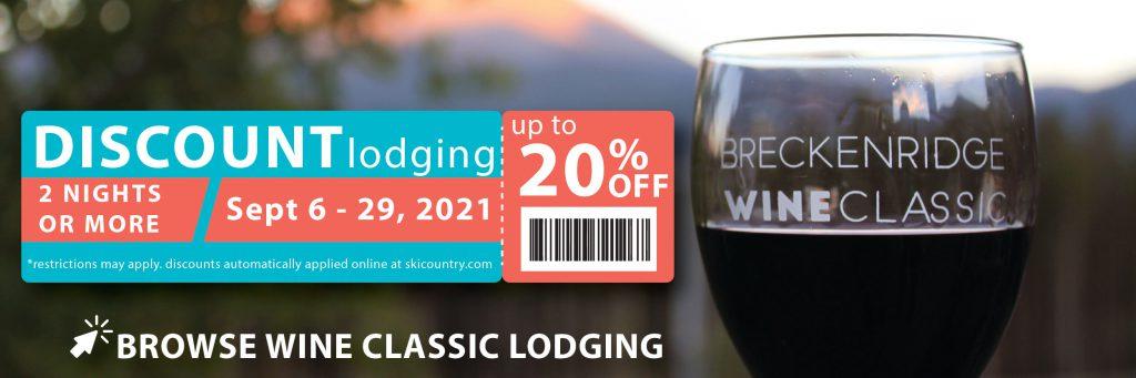 discount breckenridge wine classic lodging with ski country resorts
